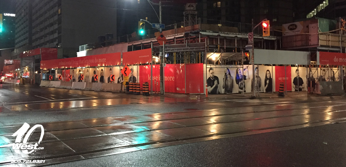 Hoarding and Large Format Graphics in Ontario