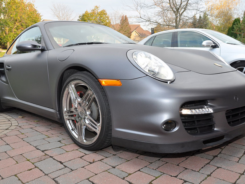911 Turbo – Matte Metallic Grey